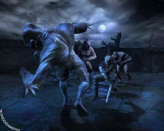 Nuevas imágenes de The Witcher para PC.