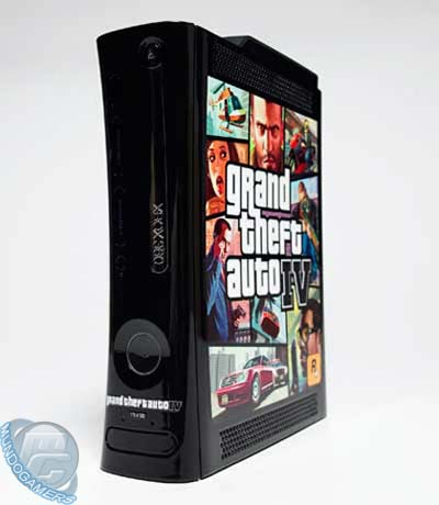 Xbox 360 Elite edici�n GTA IV