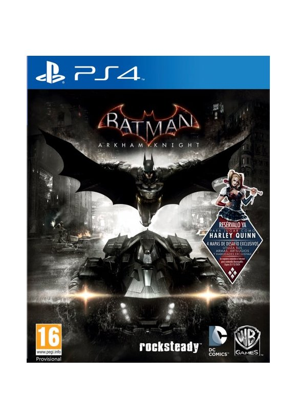 caratula Batman Arkham Knight ps4