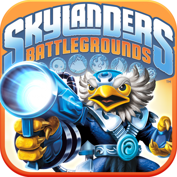caratula Skylanders Battlegrounds ios