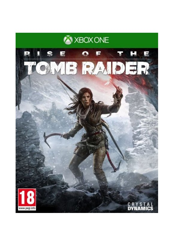 caratula Rise of the Tomb Raider xone