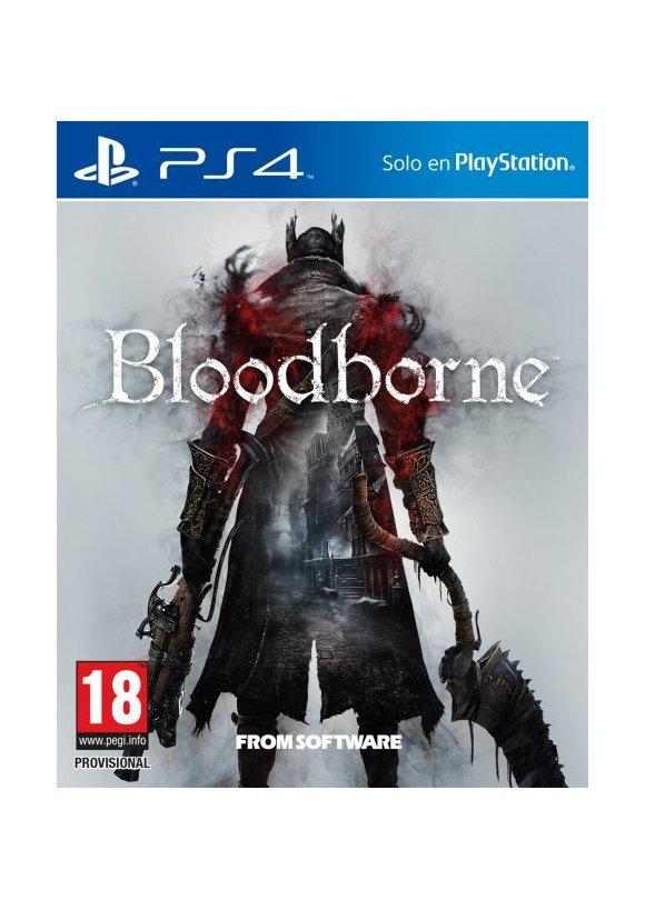 Caratula Oficial De Bloodborne Ps4