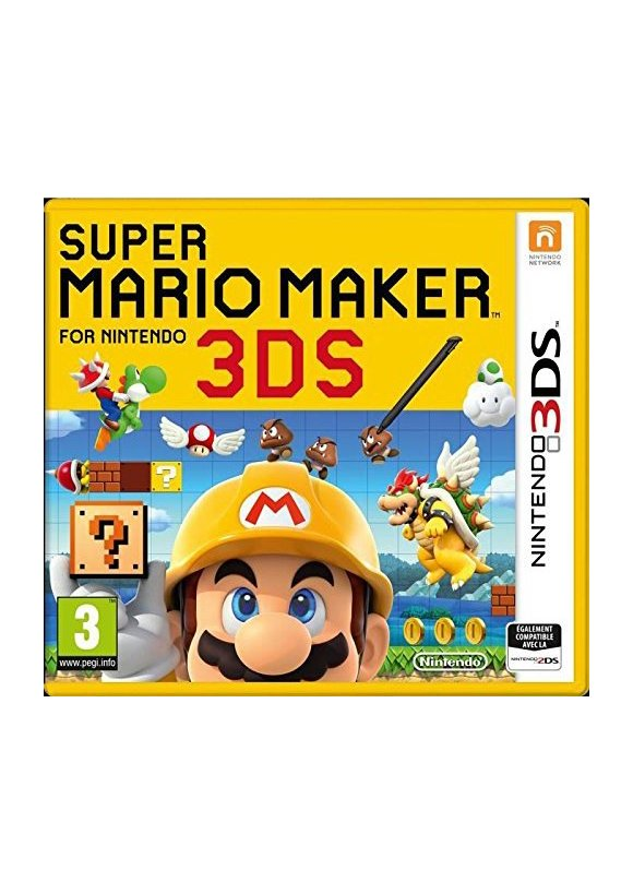 caratula Super Mario Maker 3ds