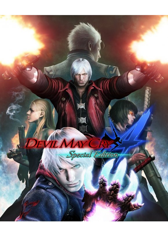 caratula Devil May Cry 4 Special Edition ps4