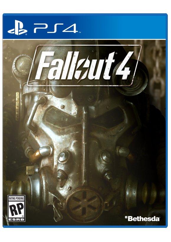 Caratula Oficial De Fallout 4 Ps4