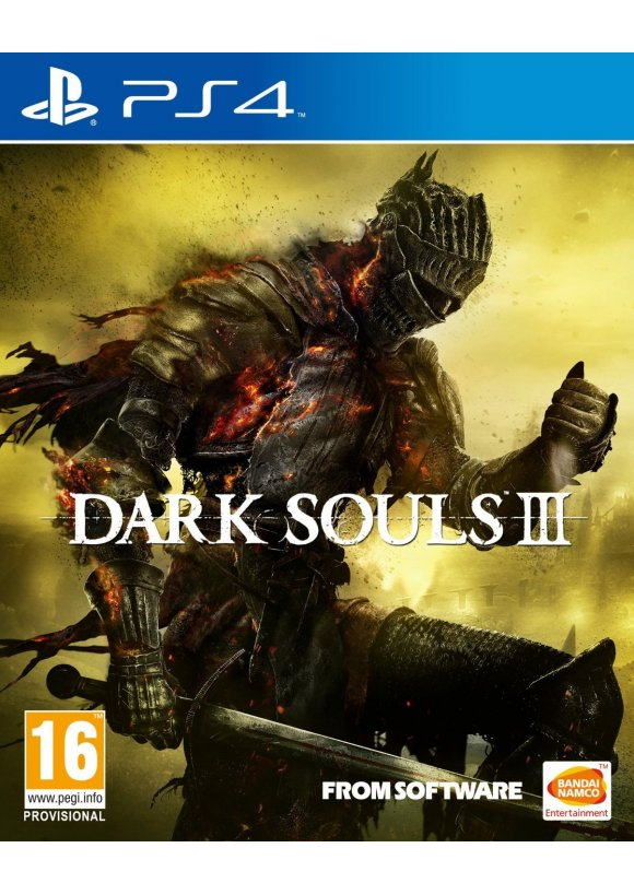 caratula Dark Souls III ps4