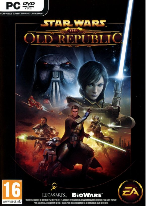 caratula Star Wars The Old Republic pc