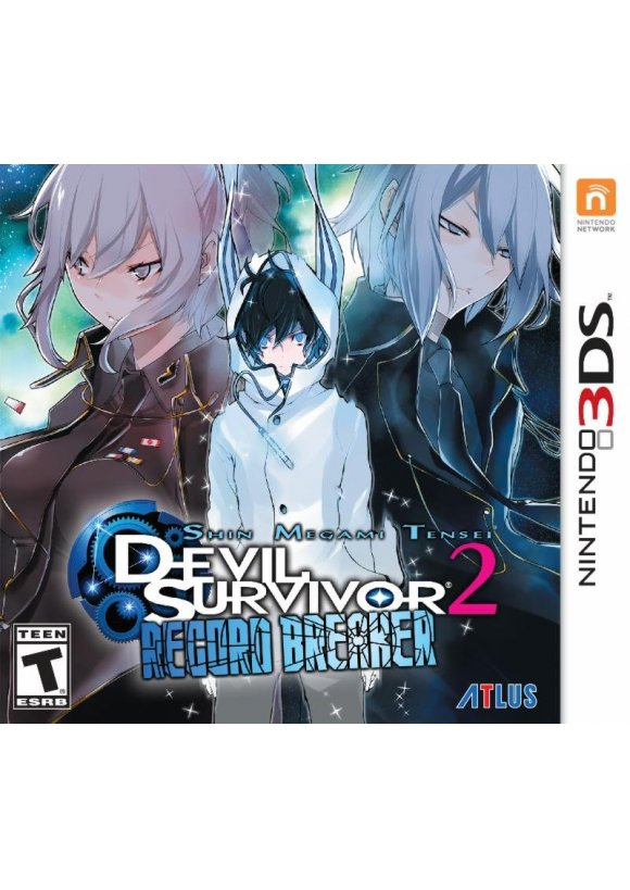 caratula Shin Megami Tensei: Devil Survivor 2 - Record Breaker 3ds