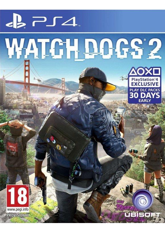 Caratula Oficial De Watch Dogs 2 Ps4