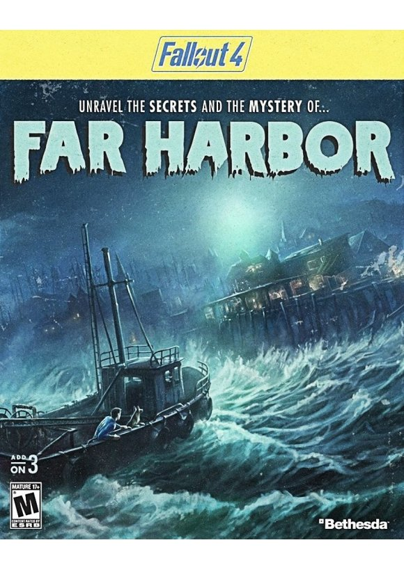 caratula Fallout 4 Far Harbor ps4