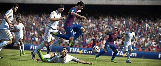 El FIFA 13 de WiiU no es el de PS3 o 360
