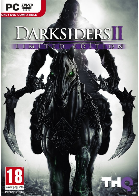 caratula Darksiders II pc