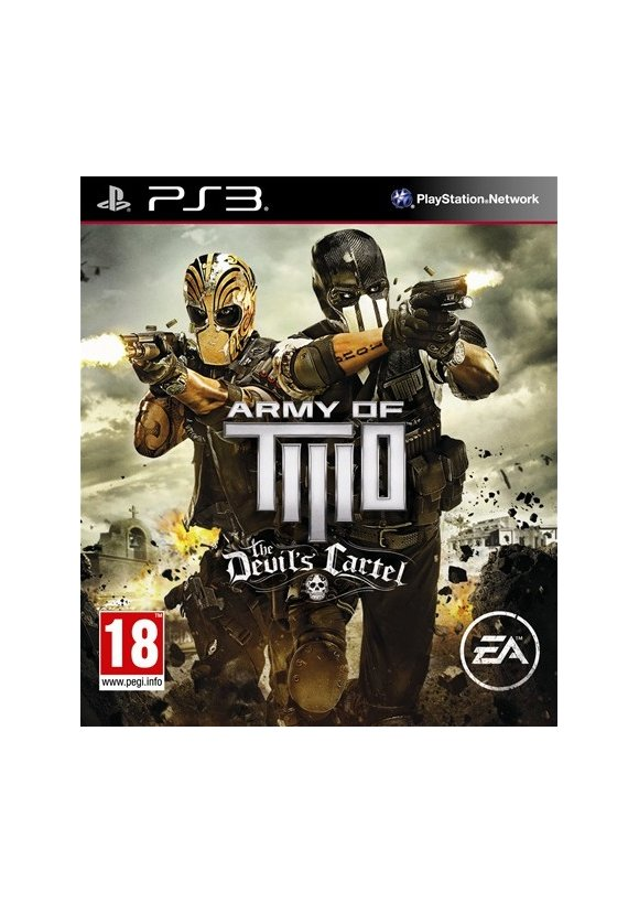 caratula Army of Two The Devil's Cartel ps3