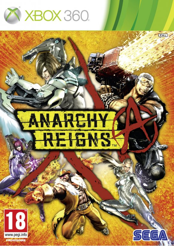 caratula Anarchy Reigns x360