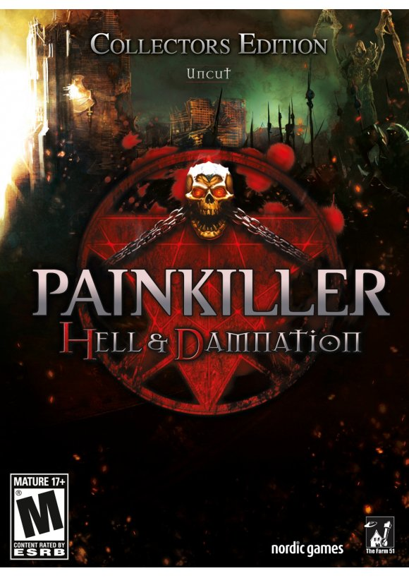 caratula Painkiller Hell & Damnation pc