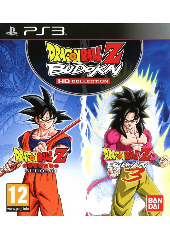 caratula Dragon Ball Z Budokai HD Collection ps3