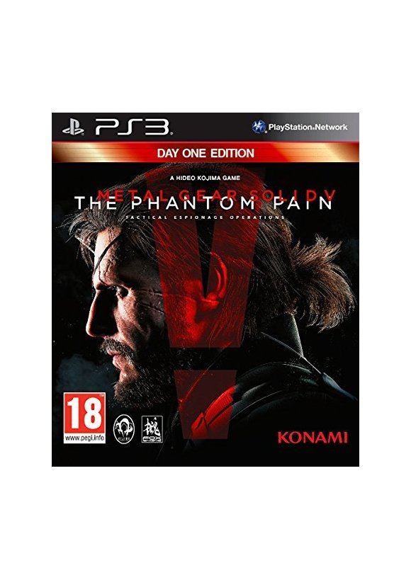 caratula Metal Gear Solid V The Phantom Pain ps3