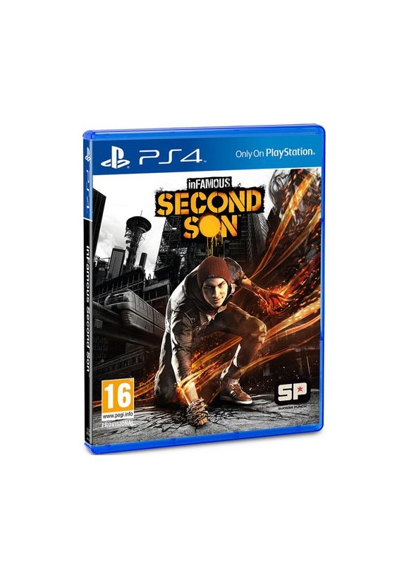 caratula inFAMOUS: Second Son ps4