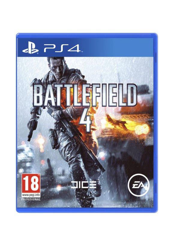 Caratula Oficial De Battlefield 4 Ps4