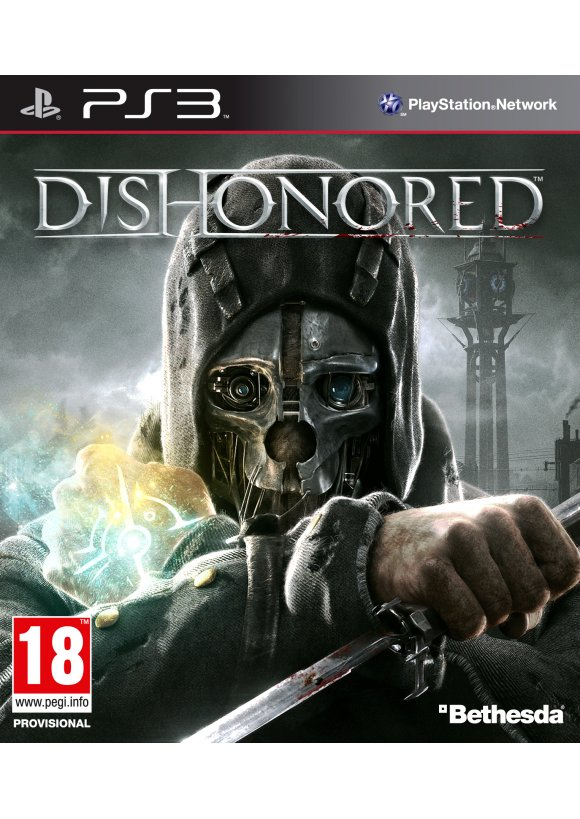 caratula Dishonored ps3