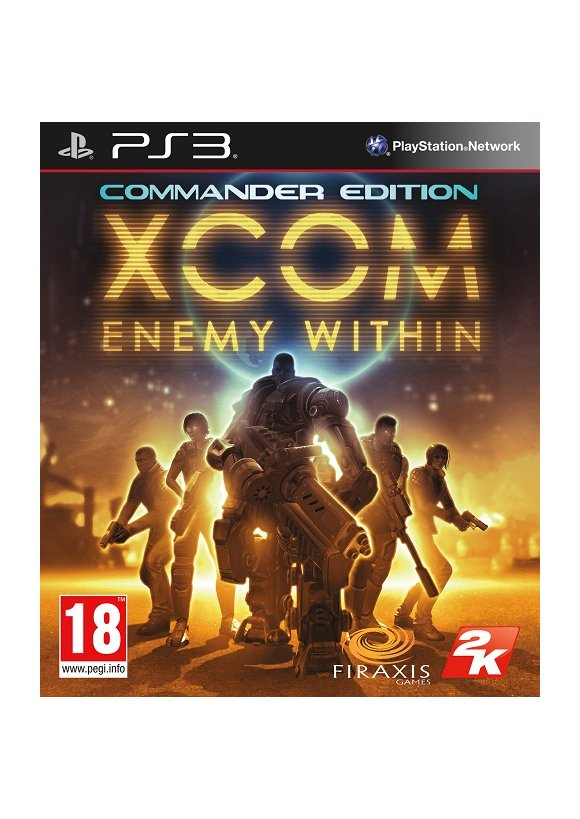 caratula XCOM Enemy Within ps3
