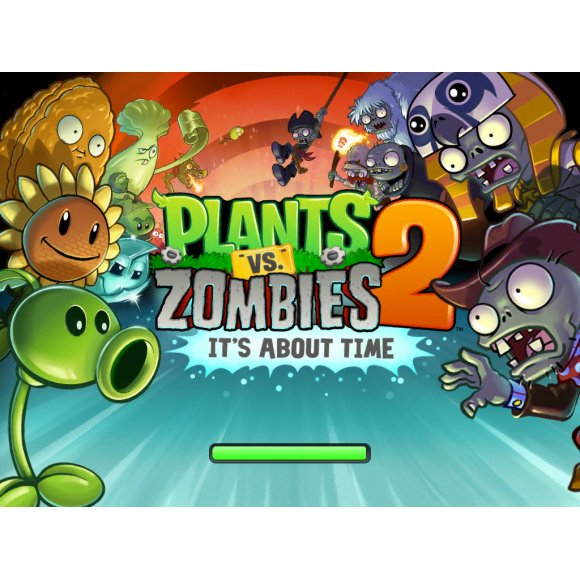 caratula Plants vs Zombies 2 It's About Time ios