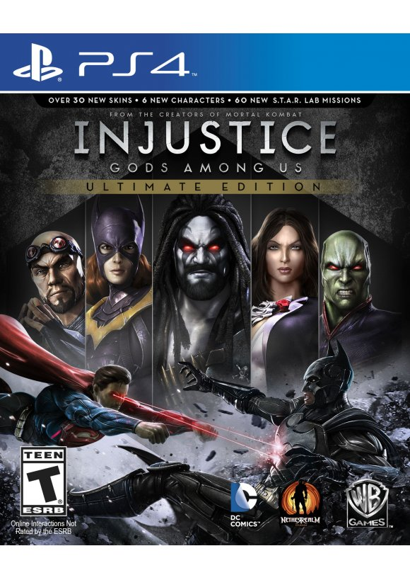 caratula Injustice Gods Among Us Ultimate Edition ps4
