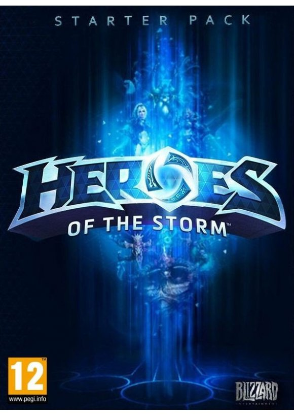 caratula Heroes of the Storm pc