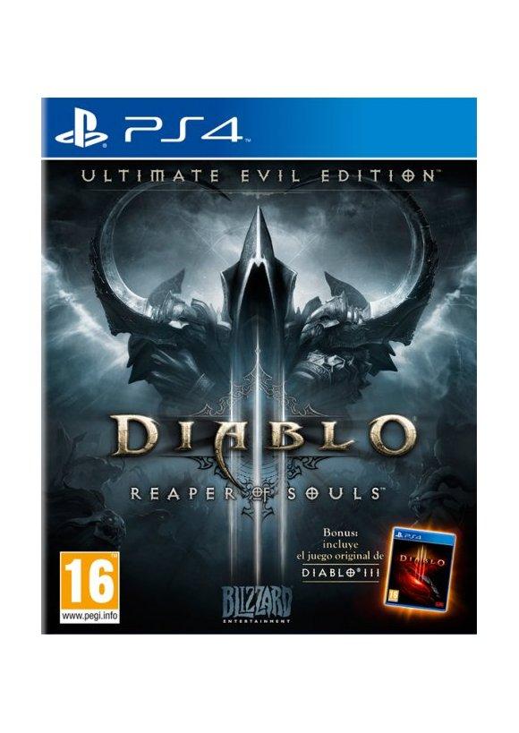 Caratula Oficial De Diablo Iii Ultimate Evil Edition Ps4