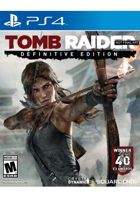 Caratula Oficial De Tomb Raider Definitive Edition Ps4
