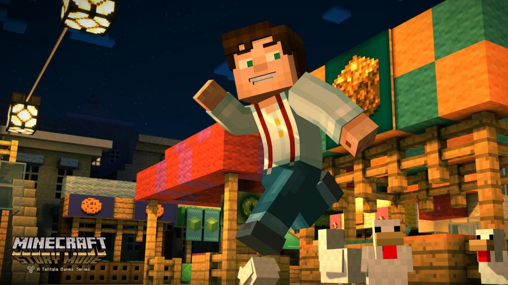 Análisis Minecraft: Story Mode PS4