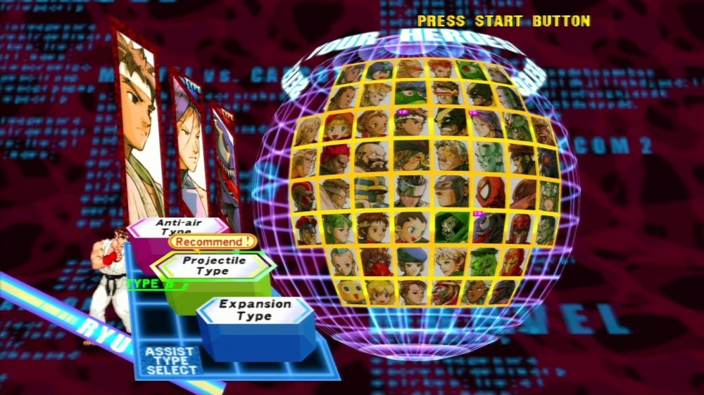 Imágenes Marvel vs. Capcom 2 New Age of Heroes