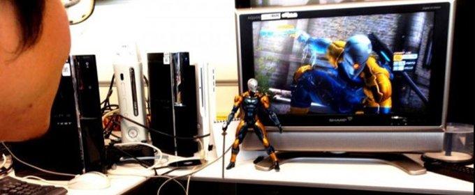 Metal Gear Rising Revengeance Kojima enseña a Gray Fox
